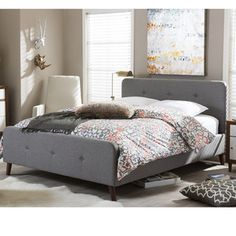 Bradley Upholstered Platform Bed
