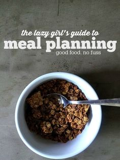 Do you want to feed your family good food on a budget without spending HOURS in the kitchen? Me too. Here is our best tips for meal planning + cooking. It is the lazy girls guide to feeding your family on a budget.