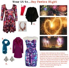 What to wear to Guy Fawkes Night!