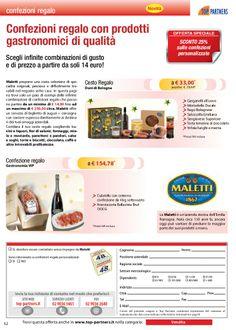 Confezioni regalo - Pagina: http://www.toppartners.it/prodotto/confezioni-regalo.aspx?p=962