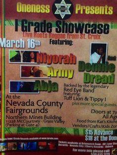 I Grade Showcase: Niyorah, Army, Donnie Dread, Abja, Tuff Lion, Tippy I #St Croix #VI reggae