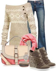 """""""Winterrrr….."""" by carolindd2 on Polyvore *I'd swap out the purse & scarf though~kat"""