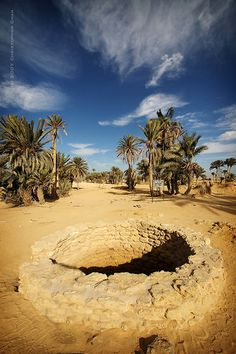 his oasis, located near the Suez Canal, is believed to be the location where Moses performed the miracle of turning bitter springs into drinking water during the flight of the Israelites from Egypt Ancient Egypt, Ancient History, Monuments, Places Around The World, Around The Worlds, Modern Egypt, Holy Land, North Africa, Trekking