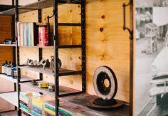 Storage at the V8 Engine Room.