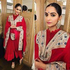 Sonam + Anamika Khanna .