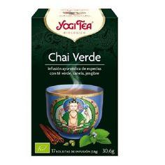 Yogi té chai verde 17 filtros