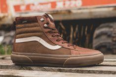 "Vans Vault uA Sk8-Hi MTE ""Gore-Tex"" Skate Shoes, Vans Shoes, Vans Slip On, Vans Off The Wall, Rubber Shoes, Womens Jordans, Outdoor Outfit, Gore Tex, Vans Sk8"