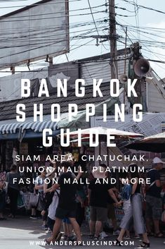 During my first trip to Bangkok, I went shopping around without much research, and it was pretty disappointing! But for this second trip to Bangkok, I went well-prepared with a list of potential shopping places. Bangkok Hotel, Bangkok Travel, Singapore Travel, Thailand Travel, Thailand Shopping, Bangkok Thailand, Shopping Places, Curated Shopping, Travel Couple