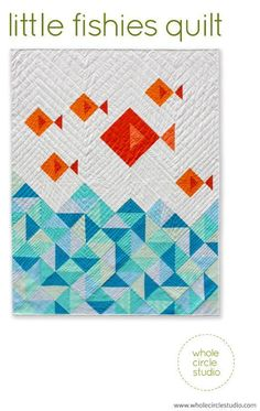 Little Fishies Quilt by wholecircle - Craftsy