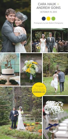 50727818606b Country chic Townsend wedding at The Lily Barn, photographed by Leah  Bullard Photography | The