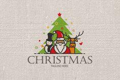 Christmas Logo by Mangga Design on Bookmark Template, Journal Template, Binder Templates, Sign Templates, Page Design, Book Design, Christmas Icons, Newsletter Design, Planner Layout