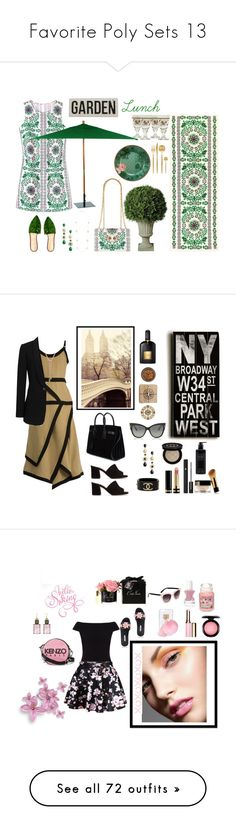 """""""Favorite Poly Sets 13"""" by onesweetthing ❤ liked on Polyvore featuring Kate Spade, Tory Burch, Improvements, ZENZii, Cutipol, Charlotte Olympia, Portmeirion, Oxford Garden, J.W. Anderson and Maryam Nassir Zadeh"""