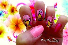 flores exóticas uñas/ exotics flowers nails