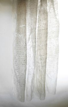 sweetlysurreal: Bienenwachs * beeswax by Beatrice Oettinger, via Behance White Art, All White, Snow White, Poesia Visual, Creative Textiles, Shades Of Beige, 50 Shades, Textile Artists, Wabi Sabi