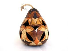 Beautiful art made from gourds.