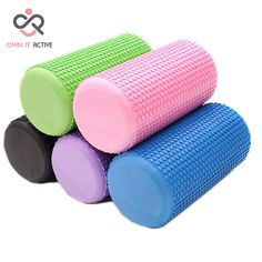 Free Delivery Thick Foam Roller for Yoga and Pilates //Price: $22 & FREE Shipping to USA // www.fitnessamerica.store //    #homefitness
