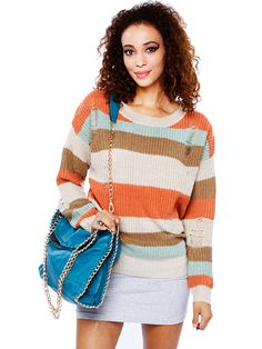 Papaya Clothing Sweet Sweater Top (1)