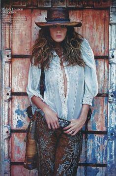 Ralph Lauren| Serafini Amelia Casual Sophistication-Ralph Lauren-Daria in Ralph Lauren by Whitney Conover