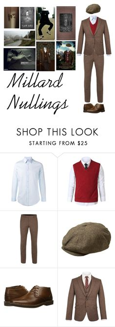 """Millard Nullings (RTD)"" by angelic-sugarplums ❤ liked on Polyvore featuring Gucci, Ben Sherman, Brixton, Kenneth Cole Reaction, men's fashion, menswear and staypeculiar"