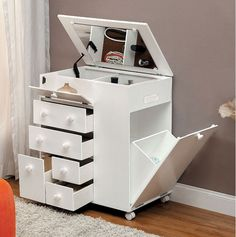 Serving Dallas, Irving, Ft Worth, Plano & beyond - NO CREDIT financing availble - Shop the lowest prices on furniture, mattresses & home décor now! Rangement Makeup, Dressing Table Design, Makeup Room Decor, Cute Room Decor, Home Room Design, Decoration Design, Closet Storage, Home Decor Furniture, Home Organization