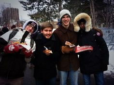 Making memories with friends (and BeaverTails pastries!) via Céliane Paré Gagné (@Céliane Paré) on Twitter