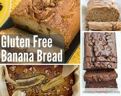 10 Recipes for Gluten Free Banana Bread | Stock up on bananas because you'll want to make all of these gluten free banana bread recipes!
