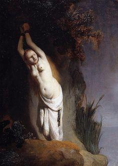 Rembrandt - Andromeda - 1630 | por International Visual Art