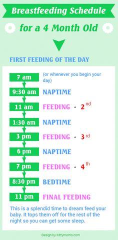 breastfeeding-schedule-4-month-old
