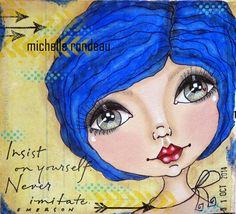 Art journal Michelle Rondeau