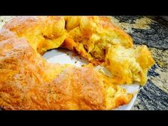 Garlic Cheese Pull-Apart bread - Recipe - YouTube
