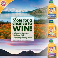 ARM & HAMMER Scentsational Outdoors Sweepstakes WIN a4 Person Tent,Digital Camera Kit & more Enter DAILY-Ends 8/31