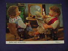 """Mecki Postkarte Nr. 341 """"Jeder auf seine Art"""", ungelaufen."""