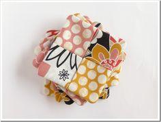 fabric coaster tutorial