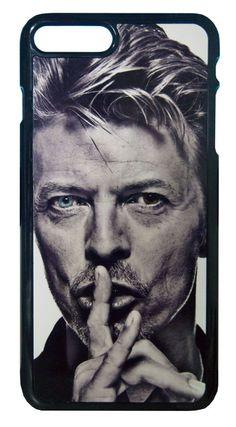 【David Bowie】デヴィット・ボウイ モノクロ2 iPhone7Plus ハードカバー