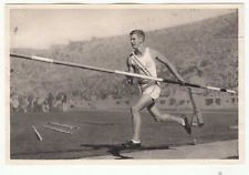 POLE VAULT BILL MILLER PERCHE USA LOS ANGELES JEUX OLYMPIQUES 1932 OLYMPIC GAMES