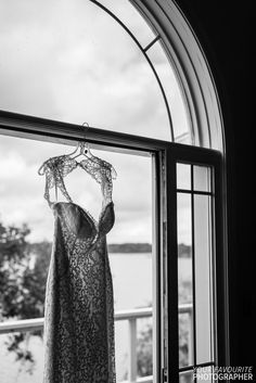I don't think there's a better venue for a wedding in all of Nova Scotia than a beautiful Tangled Garden wedding, where Leigha and Scott said their vows Garden Wedding, Lace Wedding, Wedding Dresses, Tangled, Vows, Wedding Details, Window, Beautiful, Bridal Dresses
