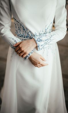 Cinderella Wedding Dresses With Sleeves Abaya Fashion, Muslim Fashion, Modest Fashion, Fashion Dresses, Date Dresses, Modest Dresses, Dress Outfits, Wedding Dresses, Dresses Dresses