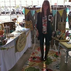 craft show booth//display