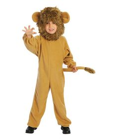 Love this Lil' Lion Dress-Up Outfit - Toddler & Boys on #zulily! #zulilyfinds