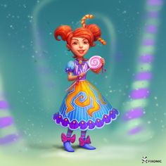Chocolate Factory #girl #character