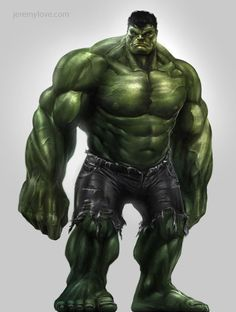 Avengers Game Concept Art: Hulk