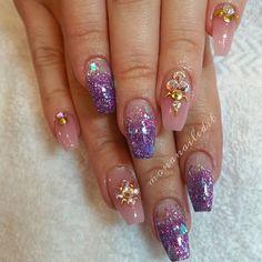 Nude Mermaid Nails