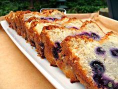 Moist Blueberry Lemon Pound Cake