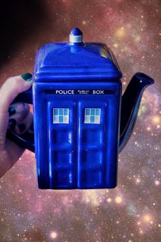 I hope it's bigger on the inside so I can drink tea forever and ever <3