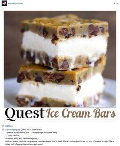 9. #quest Bar Ice Cream #Sandwich - 60 sandwichs de #crème glacée que vous #voudrez Wolf down... → Food