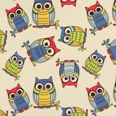 The Owl 2 - Decorator Fabrics Animalsfavorable buying at our shop
