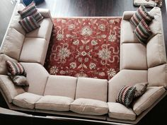 u shaped sectional - Google Search