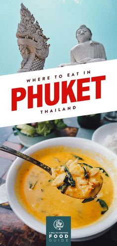Learn which restaurants to go to for the best seafood, Peranakan food, and other Thai dishes in Phuket, Thailand. Phuket Food, Phuket Thailand, Thailand Travel, Asia Travel, Fun Travel, Travel Tips, Travel Destinations, Phuket Travel, Travel Ideas