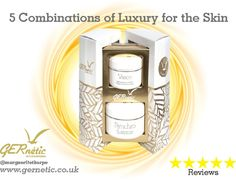 GERnétic Duo Sets - The prefect luxury Christmas Gift! Help your skin this winter with GERnétic's regenerating & anti-ageing creams. #gernetic #gerneticuk #winterskin #christmaspresent #beautysalon #beautytreatment #bestproduct #madeinfrance #antiageing #skincare #beautifulskin Luxury Christmas Gifts, Christmas Presents, Face Products, Anti Aging Cream, Ageing, Skincare, Winter, Casket, Xmas Gifts