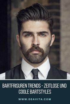 Ein gut gepflegter Bart ist nicht nur ein Ausdruck von Männlichkeit, er steht auch für Persönlichkeit und Selbstbewusstsein. Mittlerweile existieren viele unterschiedliche Bartfrisuren und Formen, die für die jeweiligen Gesichtsformen passend sind und trendige Bartstyles ergeben.